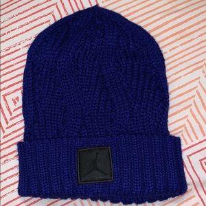 Jordan Purple Knitted Hat